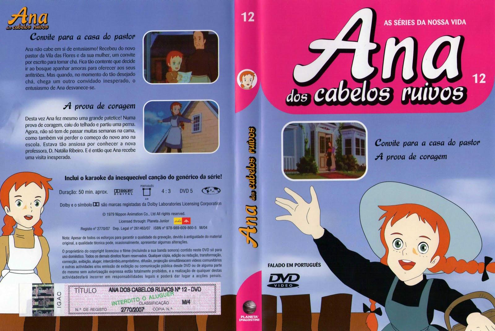 Ana dos Cabelos Ruivos Vol.1 A 25  PT-PT Ana+dos+Cabelos+Ruivos+-+Vol.12-capa