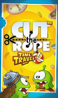 Screenshots of the Cut the Rope Time Travel HD for Android tablet, phone.