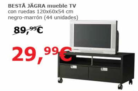 Decoracion mueble sofa ofertas ikea barcelona for Mesa tv con ruedas ikea