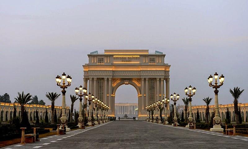 Ganja park in Ganja city, Azerbaijan