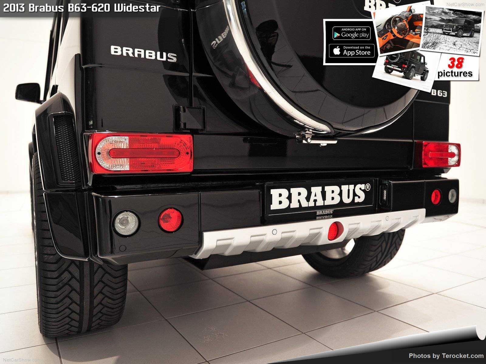 Hình ảnh xe ô tô Brabus B63-620 Widestar 2013 & nội ngoại thất