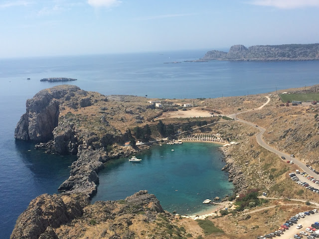 Saint Paul's Bay Lindos, Rhodes, Greece
