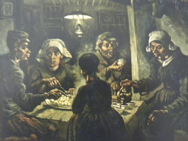van Gogh potato eaters