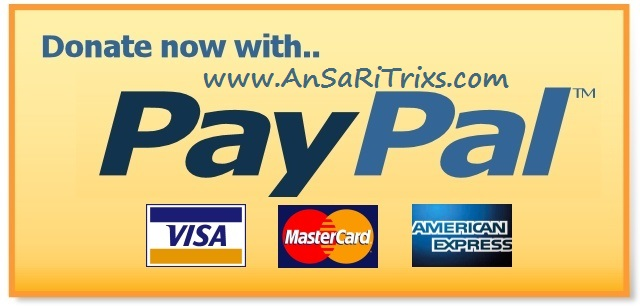 How to Add PayPal Donate Button in Blogger