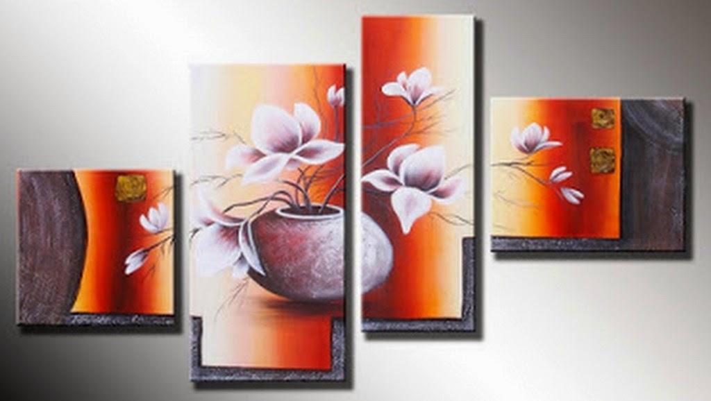 Cuadros pinturas oleos ideas para cuadros decorativos for Cuadros tripticos grandes