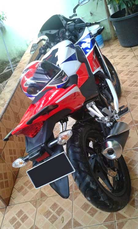 All New Honda CBR150R warna RWB