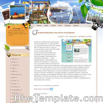Appealing Titicaca in Bolivia blogger template