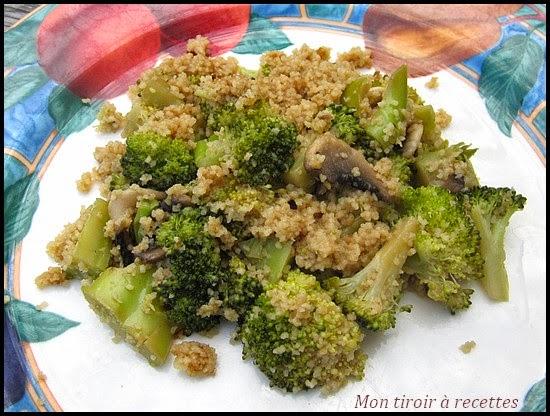 mon tiroir 224 recettes de cuisine po 234 l 233 e de brocolis 224 la semoule
