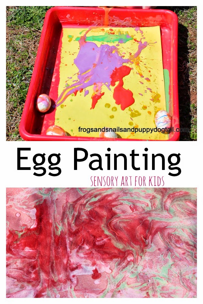 Egg Painting for kids