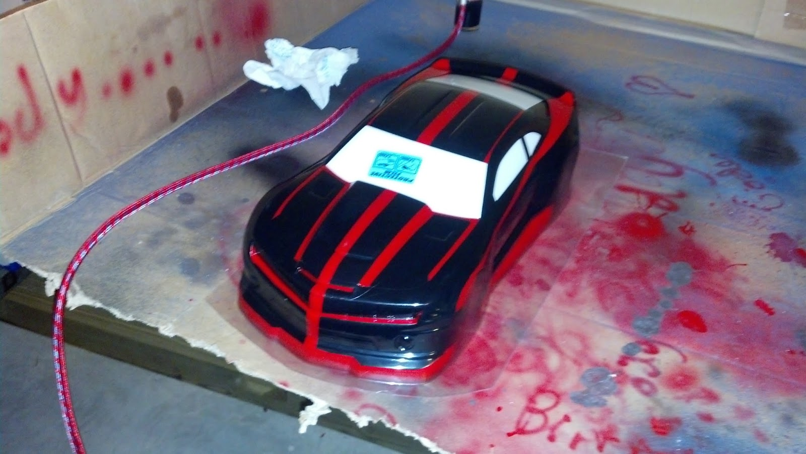 Cmc Rc Projects Body Paint 16th Camaro