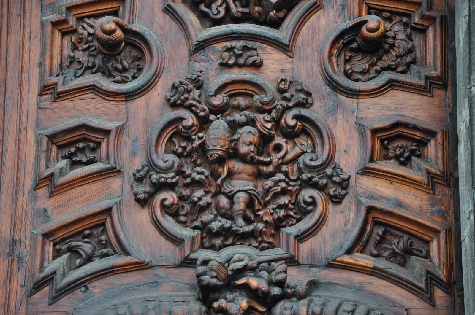 at 127 PM & Orbis Catholicus Secundus: Doors of the Metropolitan Cathedral in ...