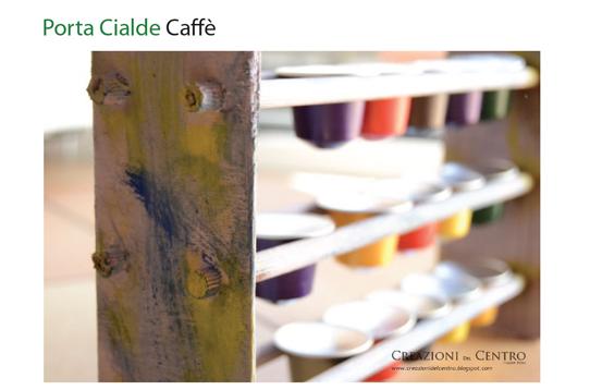 Un Porta Cialde Per Il Caff Di Legno Creazioni Del Centro