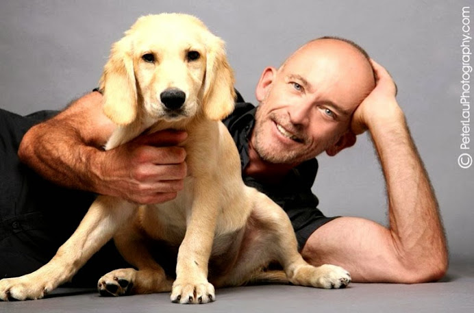 Mark Doty & Ned (Photo by Peter Lau)