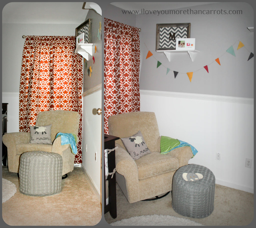 Grey Pouf Living Room