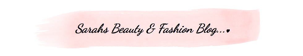 Sarahs Beauty & Fashion Blog...♥