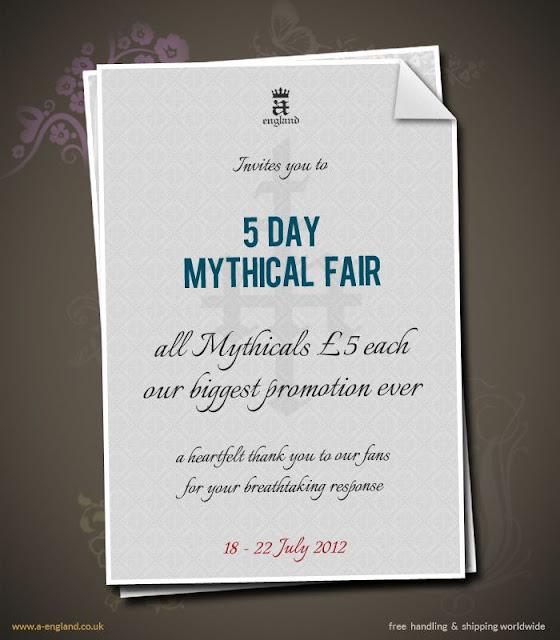 A-England Mythical Fair Promotion