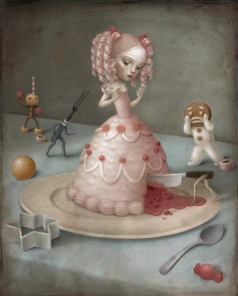 Baśnie na Warsztacie, birthday cake, fairy tale cake, baśniowy tort, Mateusz Świstsk