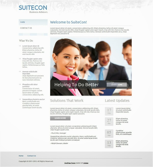 SuiteCon - Free Wordpress Theme