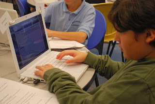 Students Dealing With Technology