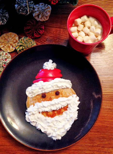 Christmas Santa Pancakes Recipe