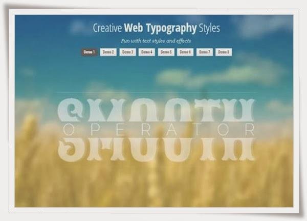 Web Typography Styles