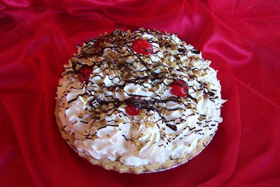 Special Banana Split Pie