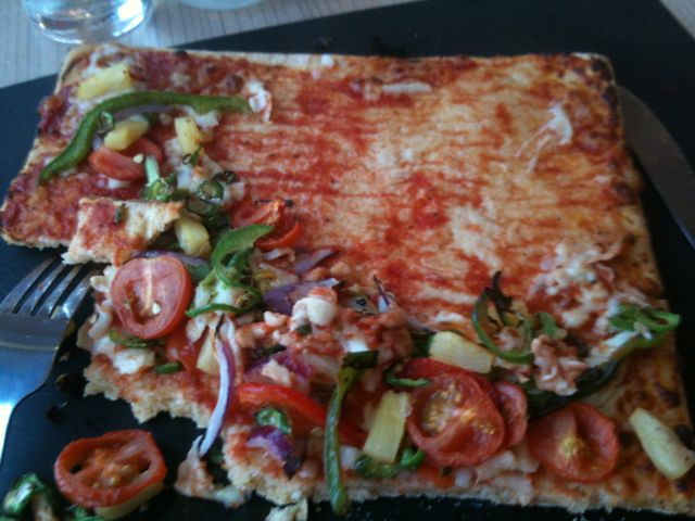 Bring back the bliss: Pizza Hut square gluten free pizza