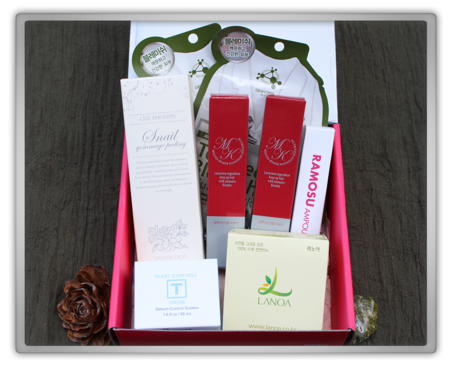 겟잇뷰티박스 by 미미박스 memebox from nature beautybox # unboxing review preview box unboxing 34