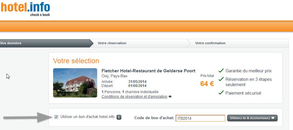 Code promo Hotel.info Hotel.de