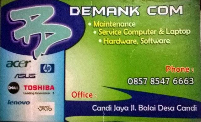 Service & Maintenance Komputer