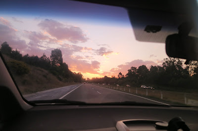 28- Bondi- Drive Home Sunset