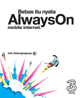 Trik Internet Gratis Three AON Maret 2013