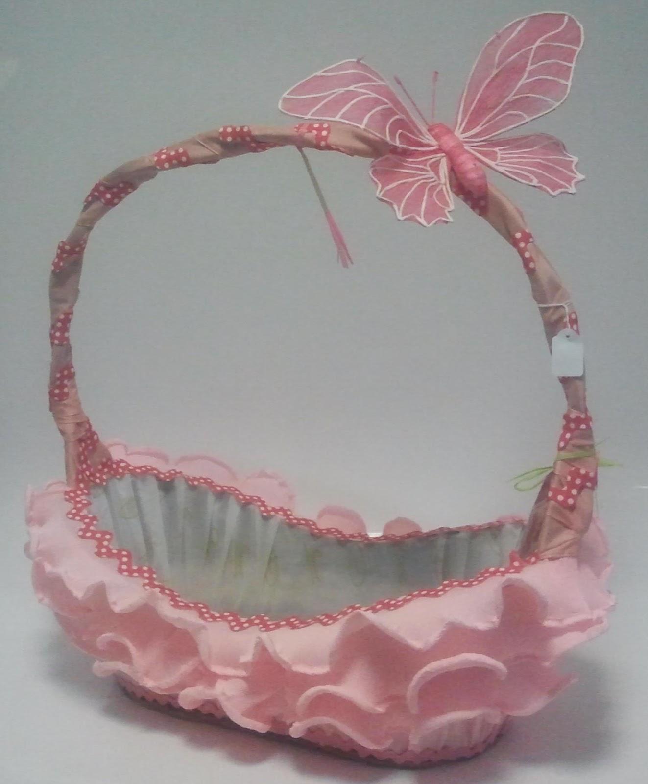 Bodas bautizos y comuniones cestas de regalo cestas - Como adornar cestas de mimbre ...