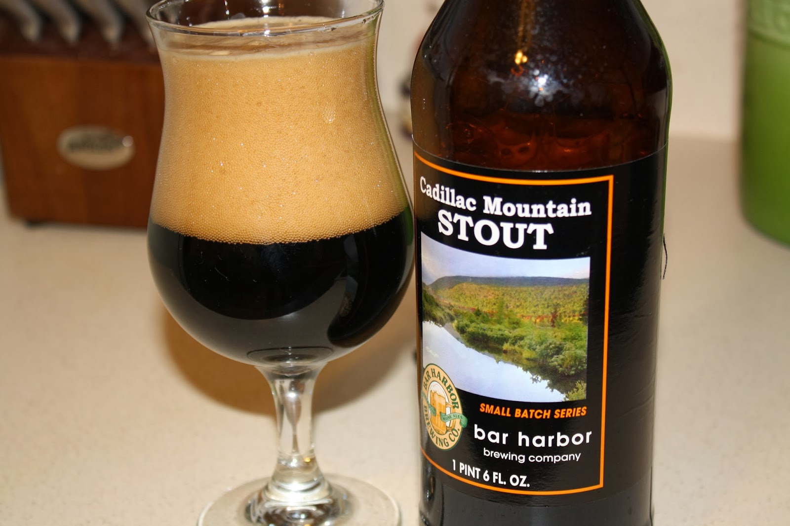 Bar Harbor Brewing, Maine, Acadia National Park, Cadillac Mountain Stout