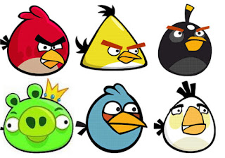 FOTO ANGRY BIRDS ANIMASI FLASH KARTUN