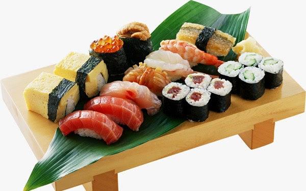 Sushi, Makanan dari Jepang