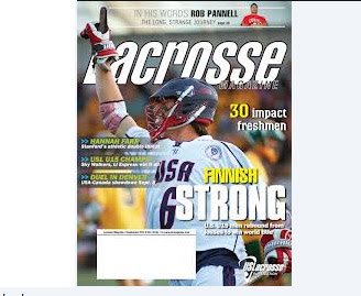 UConn Featured in Lacrosse Magazine
