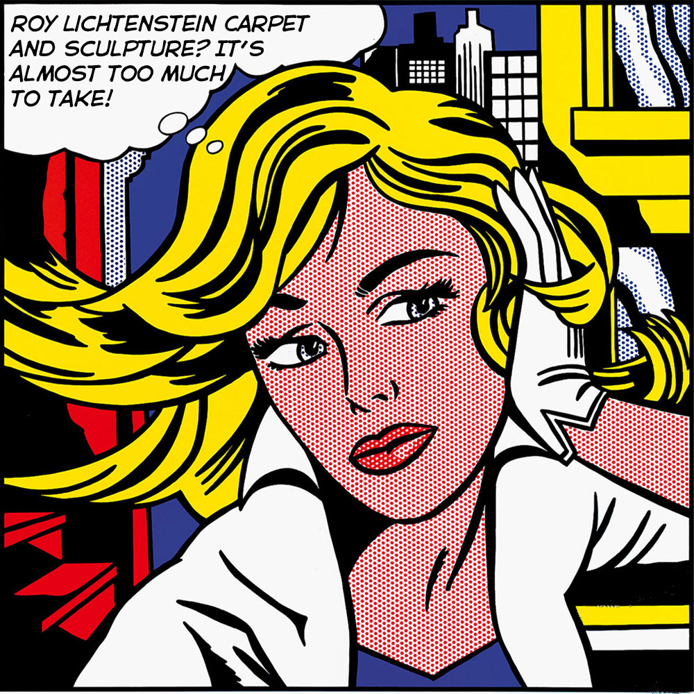 Daily update interior house design a little lichtenstein - Roy lichtenstein obras ...