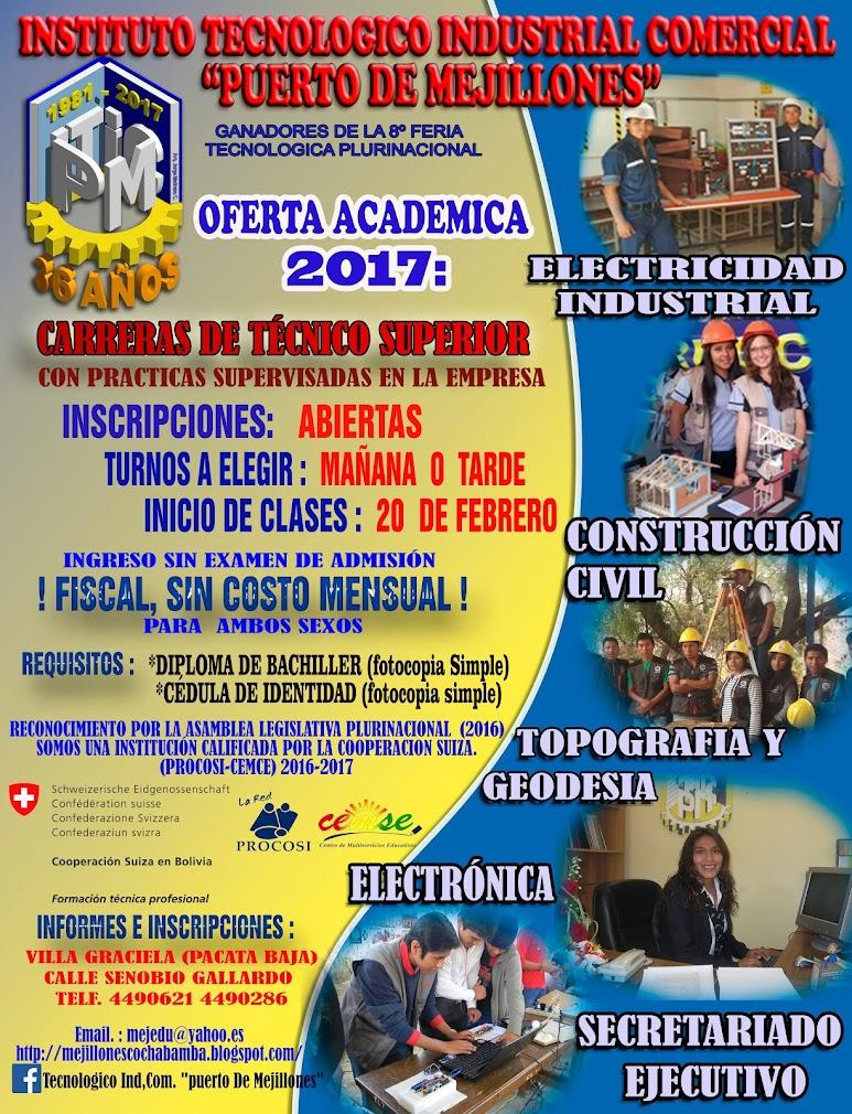 INICIO DE GESTIÓN 2017