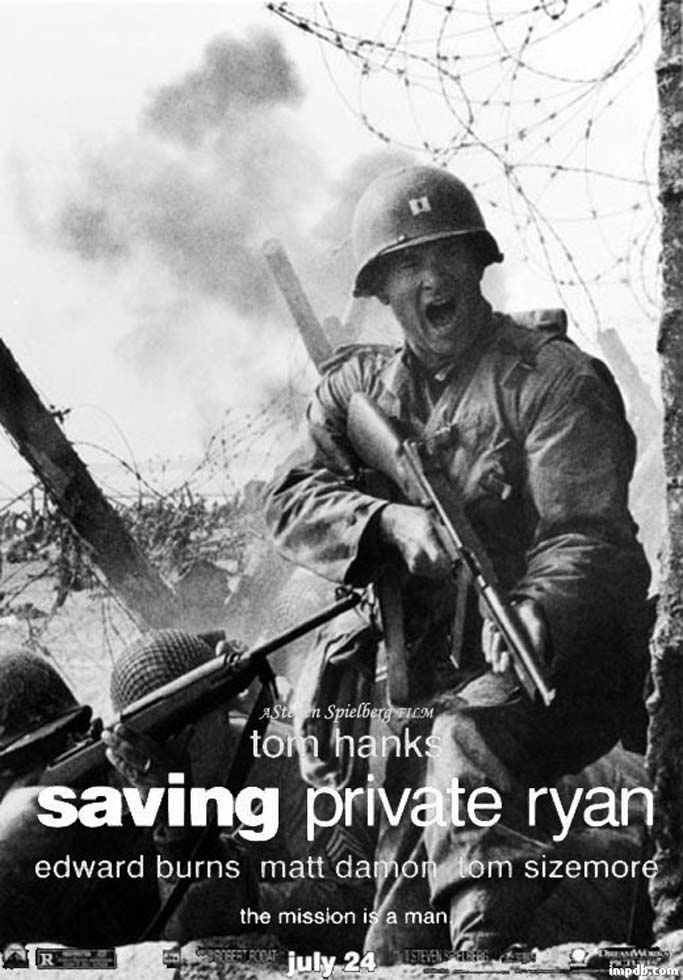 Mi enciclopedia de cine salvar al soldado ryan saving for Food bar saving private ryan