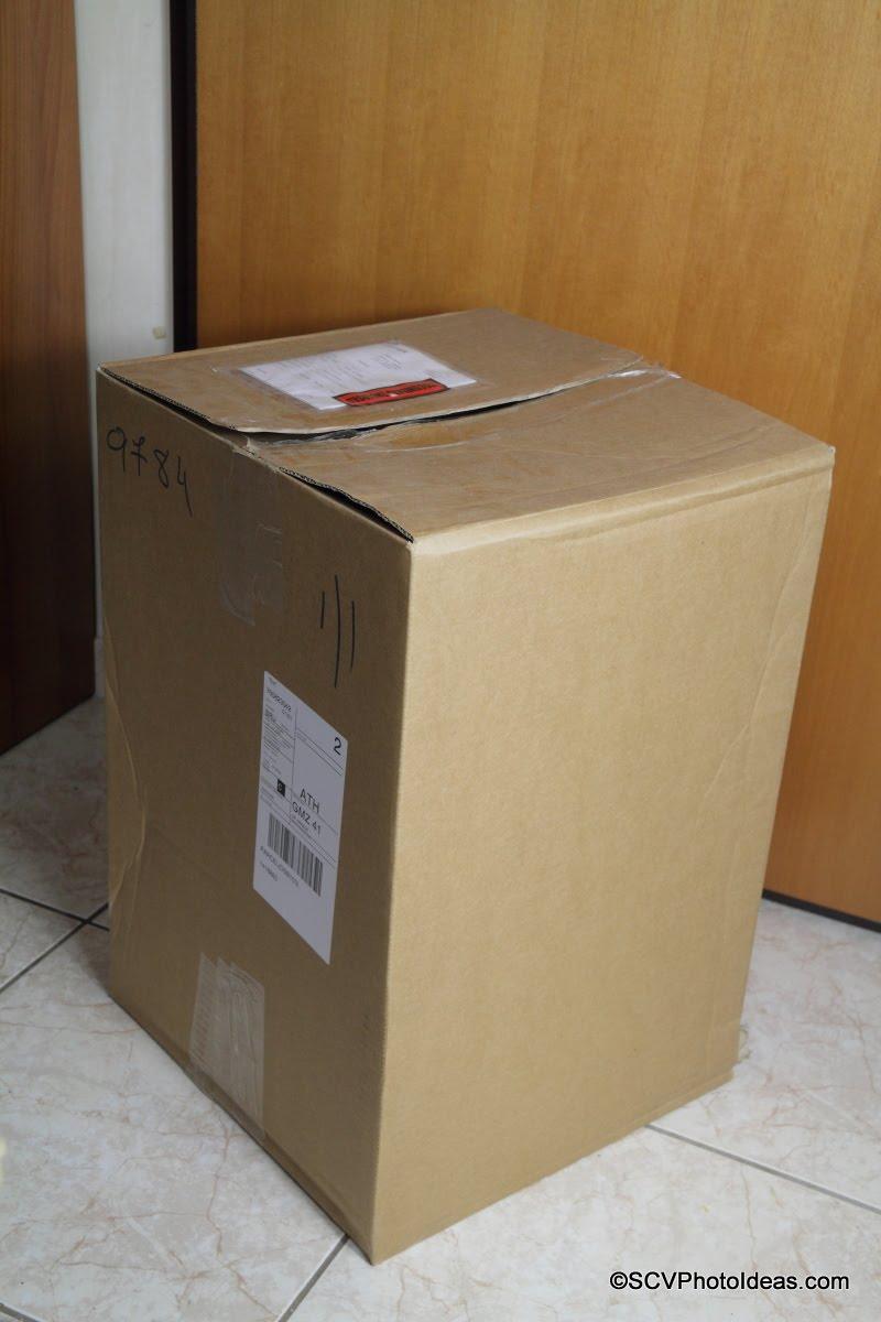 Case Logic DSB-103 DSLR Split Pack Carton box