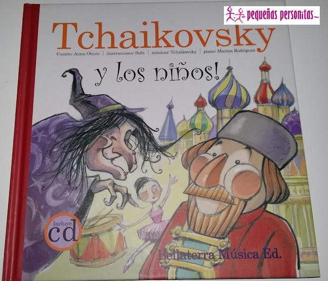 club de lectura, Tchaikovsky y los niños, libros infantiles, audiolibro, Boolino, libro con CD, musica clasica, lecturas infantiles