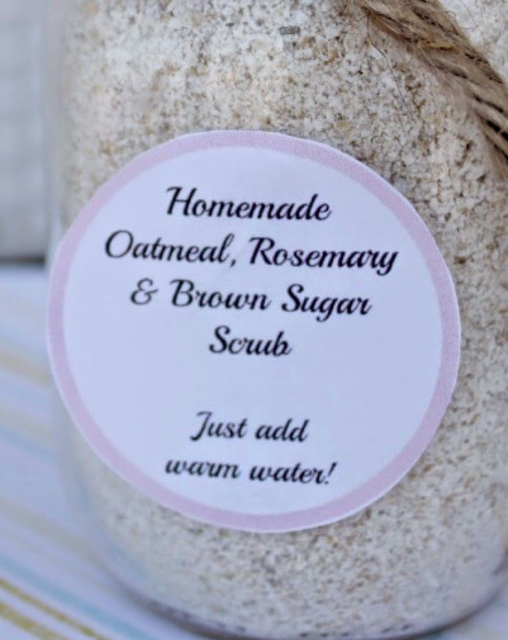DIY Homemade Oatmeal Body Scrub! Perfect Mother's Day gift! #BestMomsDayEver#ad
