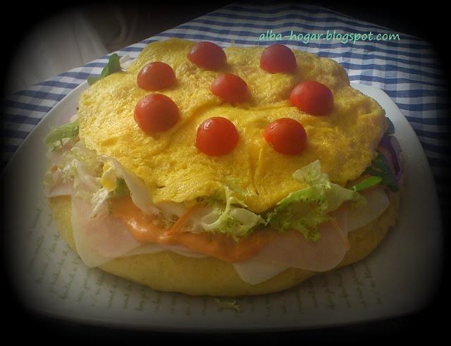 tortilla rellena alba hogar