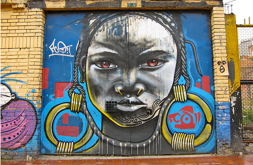 In Bogotá, Colombia graffiti is an expected art form for the masses ...