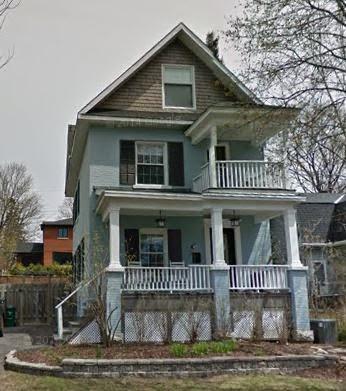 551 Fraser, the original Fraser family home.