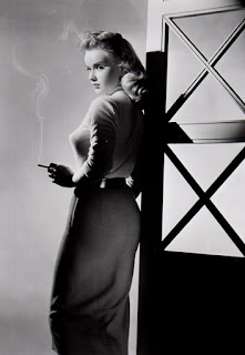 anne francis smoking