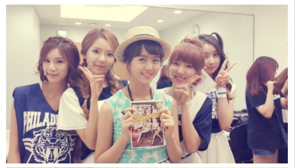 Kim So Hyun with Stellar Selca @ Music Core