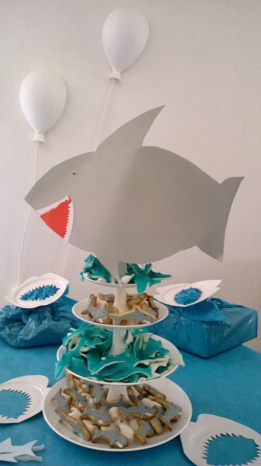 La d coration de g teaux par fanny sabl requin for Requin decoration