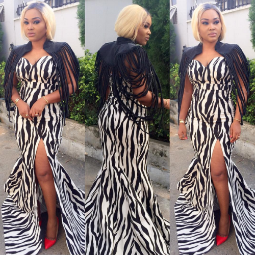 Check out  Mercy Aigbe's outfit to City People Fashion & Beauty awards